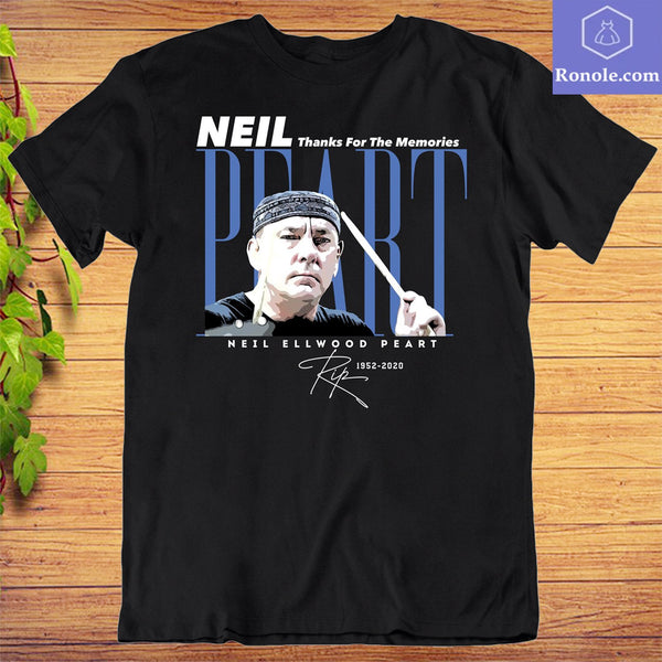 Neil Peart Forever in Loving Memory T-Shirt - Teetaho