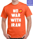No War With Iran T-shirts, No War Shirt - Teetaho