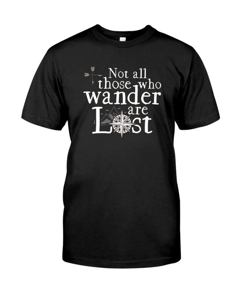 Not All Those Who Wander Are Lost Retro T-shirt
