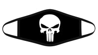 Punisher Skull Cloth Face Mask