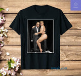 Putin with Sexy Trump on Desk Funny Anti Trump T-shirt - Teetaho