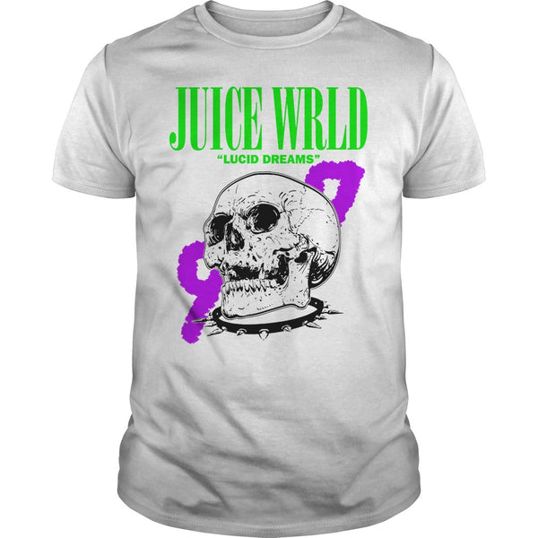 RIP Juice Wrld Lucid Dreams 999 Skull T Shirt