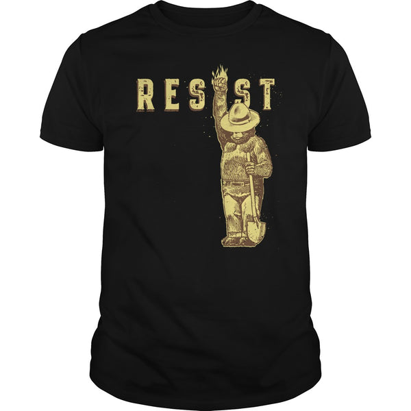 Resist Smokey The Bear National Park T Shirt