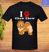 I Love My Chow Chow In The Year Of The Dog Adopt Rescue T-shirt, Pet Shirts, Animal Shirts, Top Gifts for Dog Lovers, Birthday Gift - Teetaho