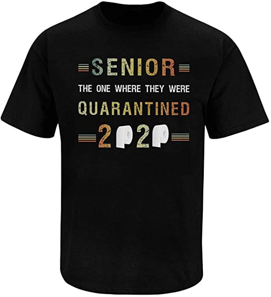 Senior The One Where They Were Quarantined Classic  2020 T Shirt