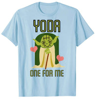 Star Wars Baby Yoda One For Me Cute Valentine's Day T-Shirt - Teetaho