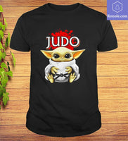 Star Wars Baby Yoda Judo T-shirt - Teetaho