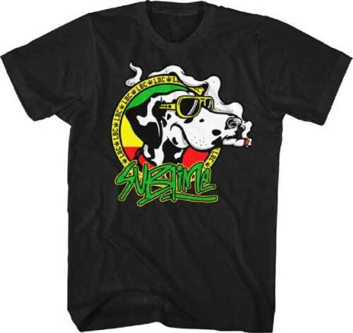 Sublime Dog with Joint T Shirt