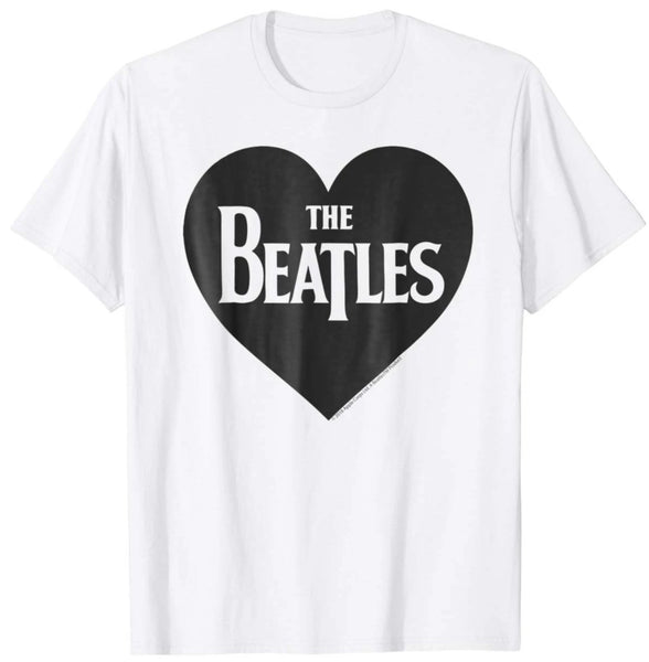 The Beatles Heart Love The Beatles T-shirt - Teetaho