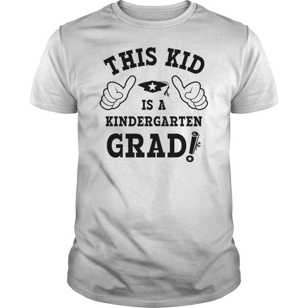 This Kid Kindergarten Grad T shirt