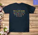 This Is for Rachel Voicemail Abbreviation Viral Funny T-Shirt - Teetaho