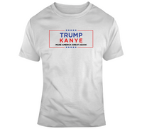 Trump Kanye For President 2020 Make America Great Again T Shirt