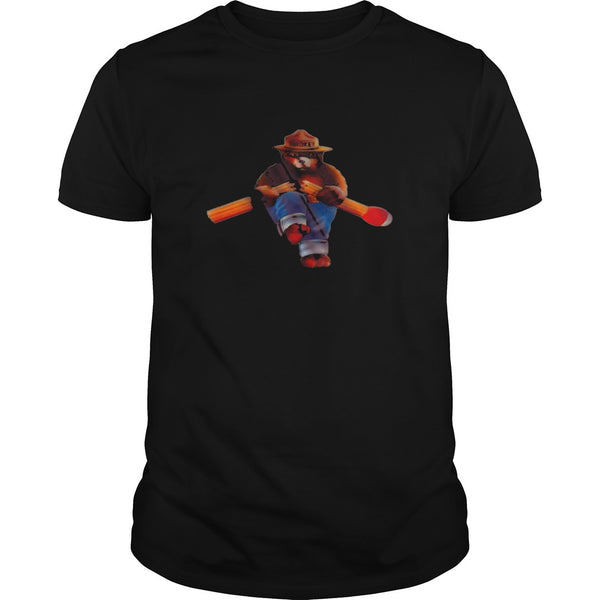 Vintage Smokey The Bear Match Break Classic T shirt