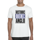 Historic Quebec Anglos T-Shirt All Sizes - Teetaho