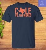 Verlander Cole 2019 Gerrit Cole Vs The World T-Shirt - Teetaho