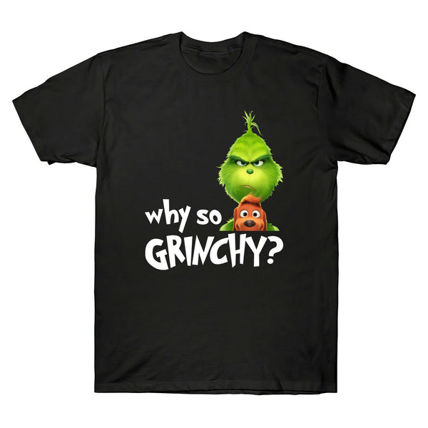 The Grinch - Why So Grinchy T-Shirt Funny Christmas Gift - Teetaho