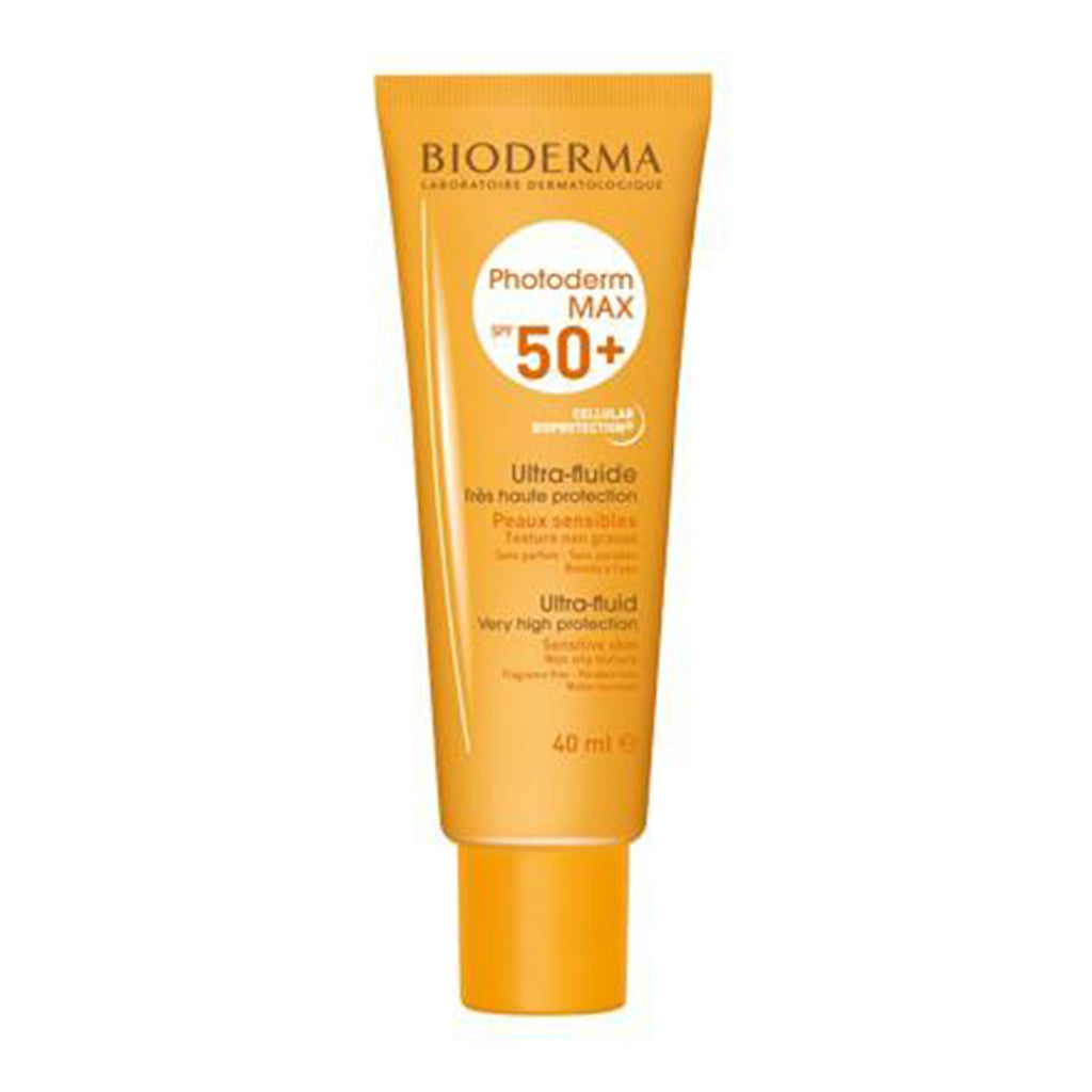 BIODERMA PHOTODERM MAX ULTRA FLUIDE SPF 50+ 40ML TRÈS HAUTE PROTECTION