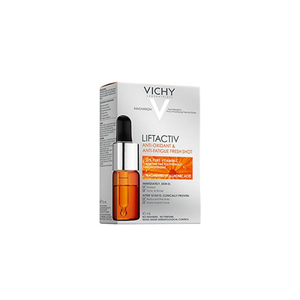 VICHY LIFTACTIV CURE ANTI‐OXYDANTE ET ANTI‐FATIGUE SÉRUM VISAGE 10 ML