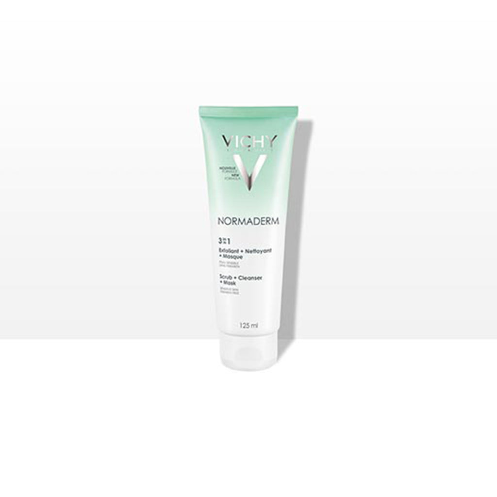 VICHY NORMADERM 3EN1EXFOLIANT+NETTOYANT+MASQUE 125ML