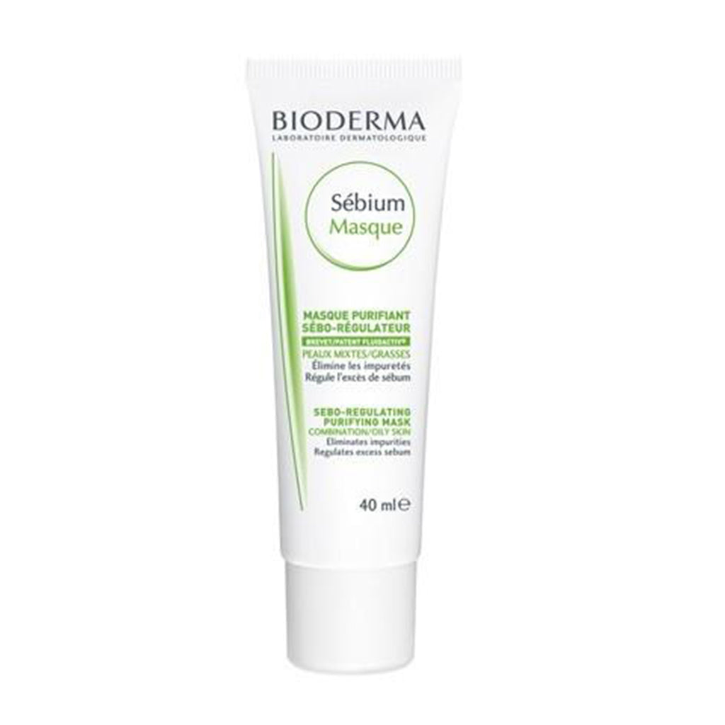 BIODERMA SÉBIUM MASQUE PURIFIANT TUBE 40ML