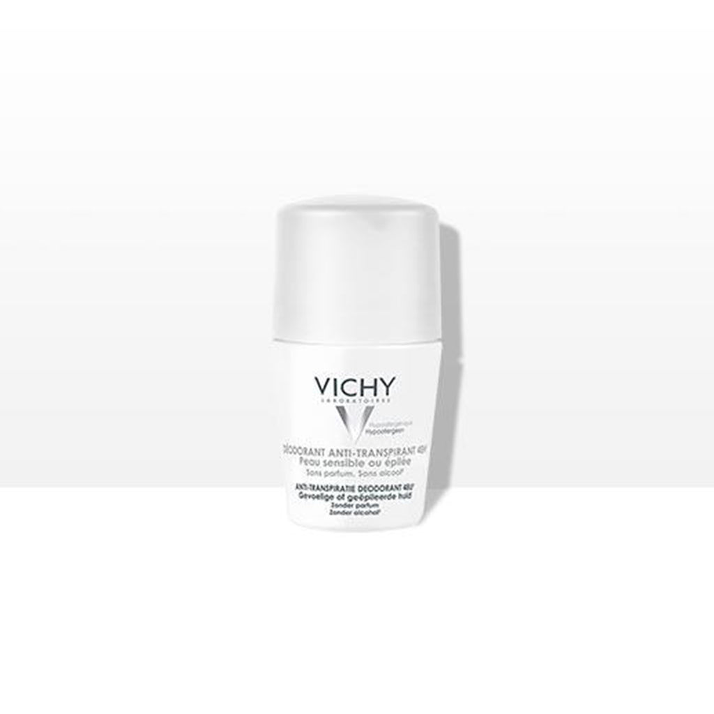 VICHY DEODORANT ANTI-TRANSPIRANT 48H ROLL-ON 50ML PEAUX SENSIBLES