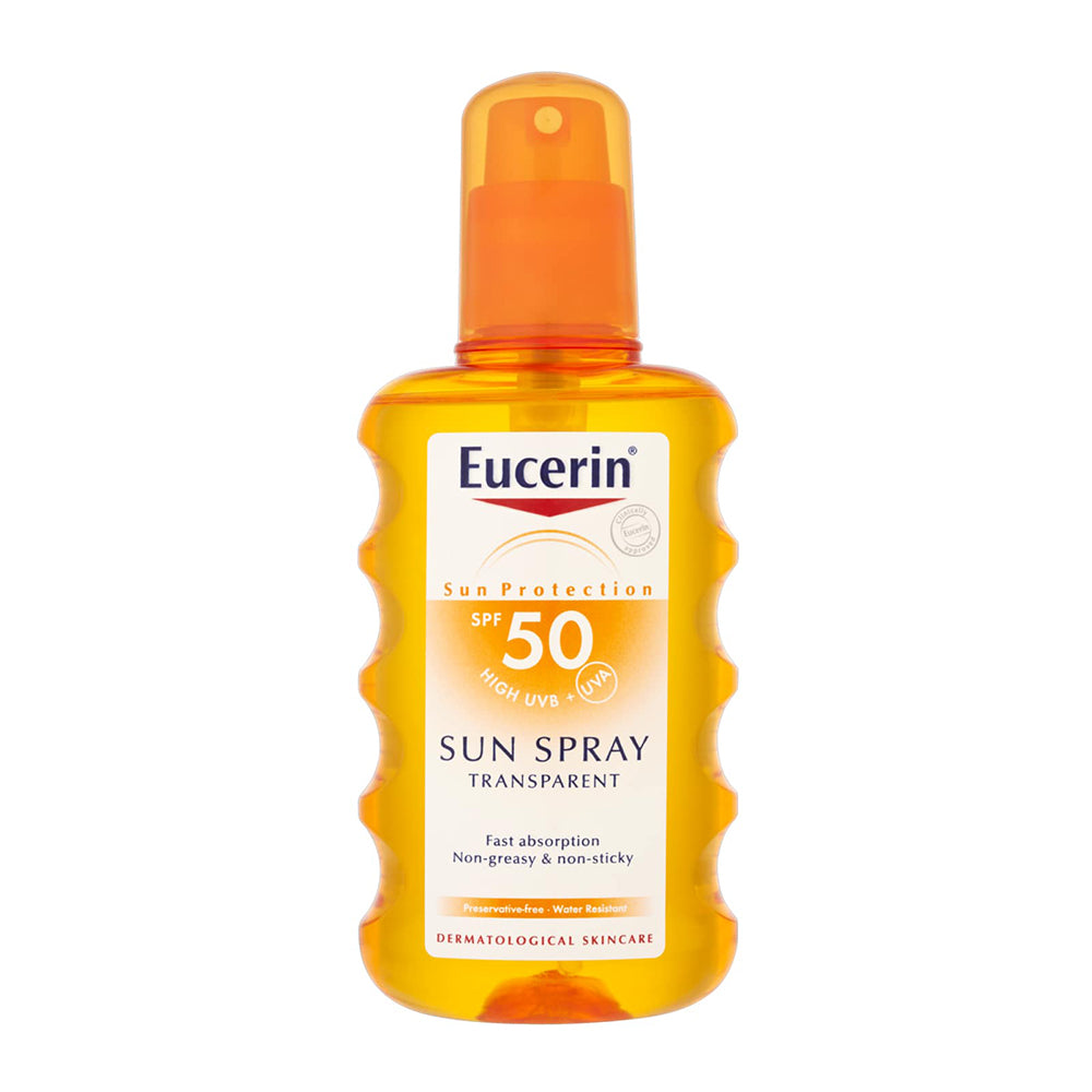 EUCERIN SUN SPRAY TRANSPARENT SPF 50 200 ML