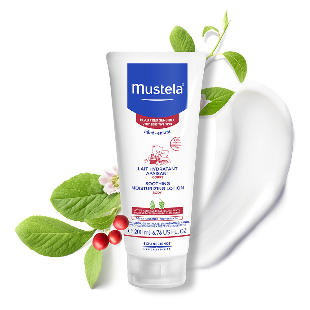 Mustela Lait Hydratant Apaisant Corps (200ml)