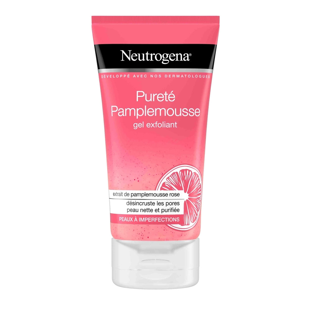 Neutrogena Visibly clear Gel Exfoliant Pamplemousse Rose 150 ml