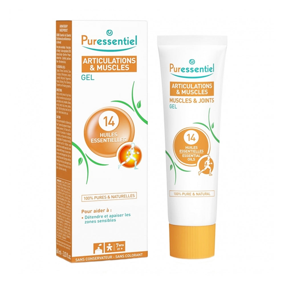 PURESSENTIEL GEL ARTICULATION & MUSCLES 14 HE - 60 ML