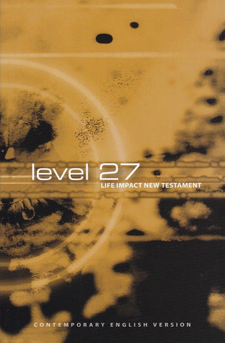 "New Testament Bible ""Level 27"""