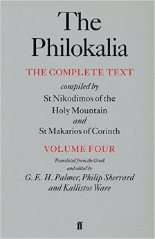 The Philokalia - Volume 4