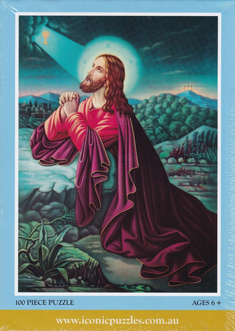 Puzzle: 100 Piece Neo Classical - Christ in Prayer
