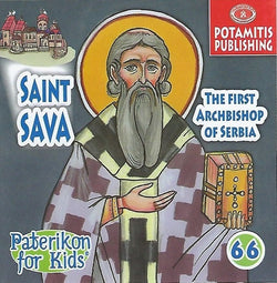 #66 Saint Sava The First Archbishop of Serbia