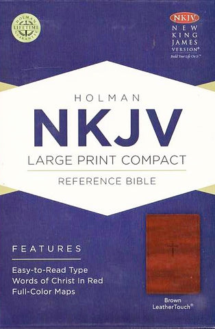 Bible - NKJV Compact Large Print - Red Letter Edition