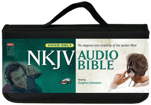 NKJV Audio Bible Voice Only (58 CD)