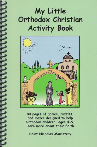 My Little Orthodox Christian Activity Book