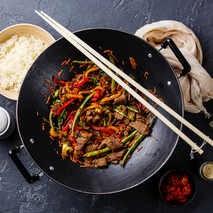 Beef & Black Bean Stir Fry
