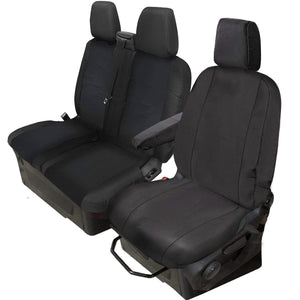 Tailored Ford Transit (Up To 2013) Black Seat Covers