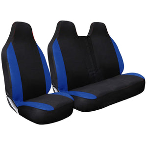 Tailored 2+1 Racing Style Van Seat Covers