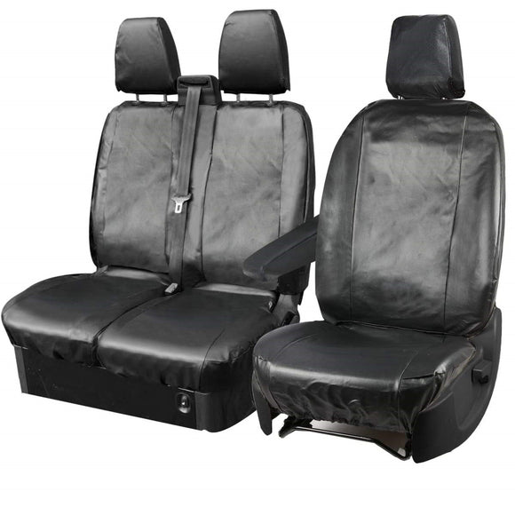Tailored Ford Transit Custom (Up To 2013) Leather Look Seat Covers