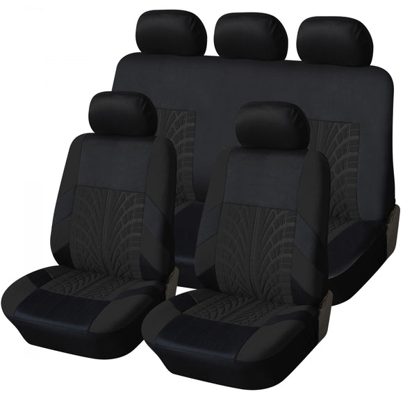 Trax Style 9pc Car Seat Cover Set