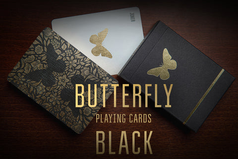 Butterfly (Black) - Cards Dynasty