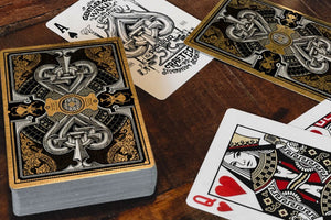 The Parlour Playing Cards Black (Limited Edt.) - Cards Dynasty