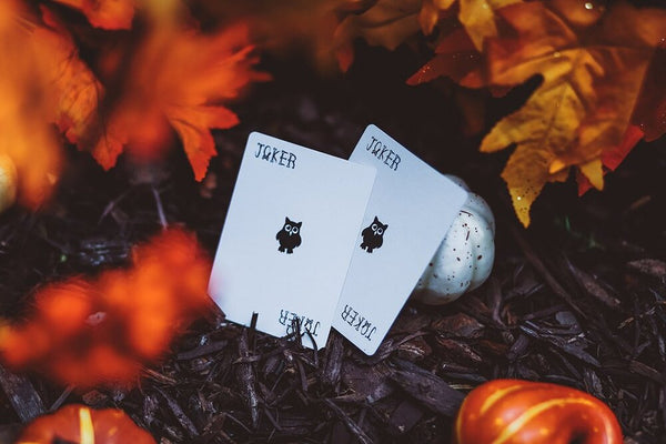 "Halloween ""FEAR"" Deck (WHITE) - Limited Edt. - Cards Dynasty"