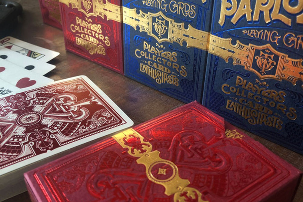 The Parlour Playing Cards - Cards Dynasty