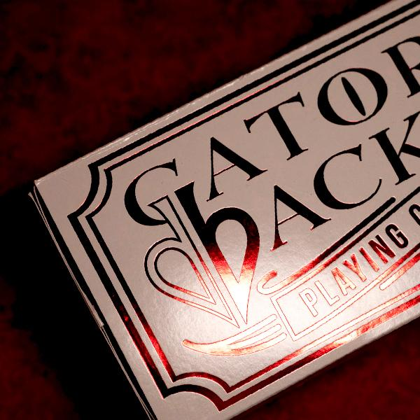 Red Metallic Gatorbacks - Cards Dynasty