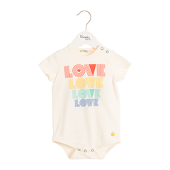 Body coton bio The Bonnie Mob love bébé Ptites Natures