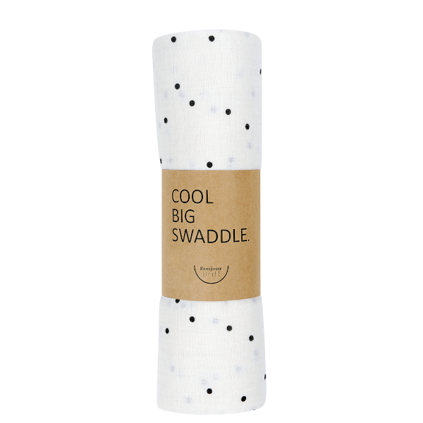 lange coton bio bonjour little dots cream ptites natures