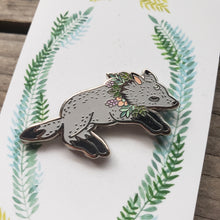 Load image into Gallery viewer, Wolf Beastie Enamel Pin