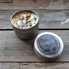 "Load image into Gallery viewer, ""Sunbath"" Soy Spell Candle"